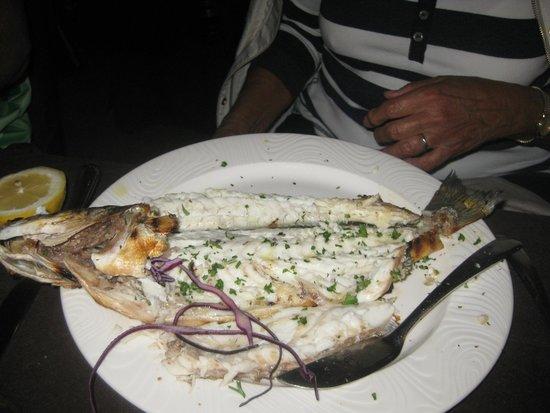 Ristorante Classique: Gegrillter Fisch