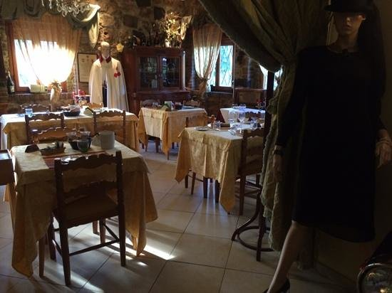 Hotel Rosati: il ristorante/sala colazione