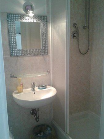 B&B Two Flowers: Bathroom
