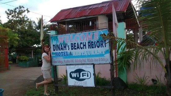 Dinah's Beach Resort: Beach resort