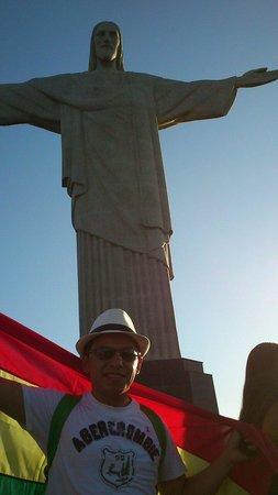 Estatua de Cristo el Redentor: Visita durante la JMJ Rio 2013