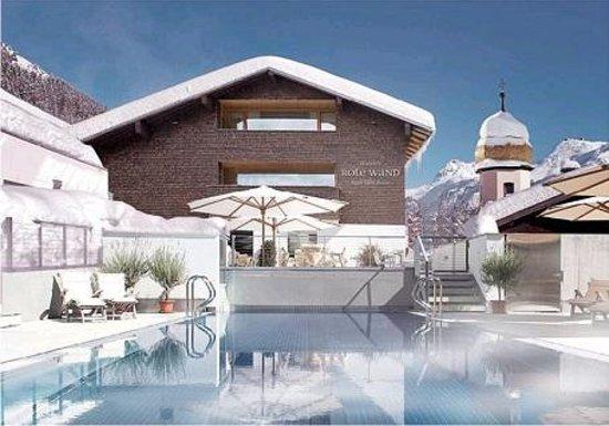 Gasthof & Hotel Rote Wand: Aussenpool Winter