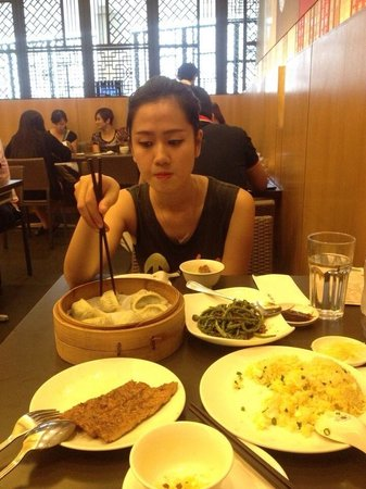 Din Tai Fung Pavilion KL: Delicious food