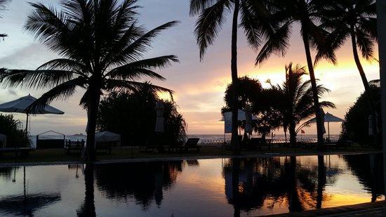 The Surf Hotel: untergehende Sonne
