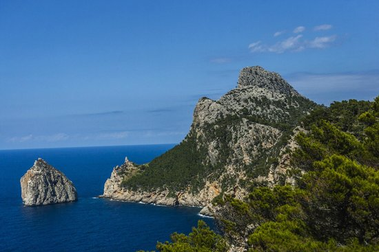 Formentor, a Royal Hideaway Hotel: Road to Hotel