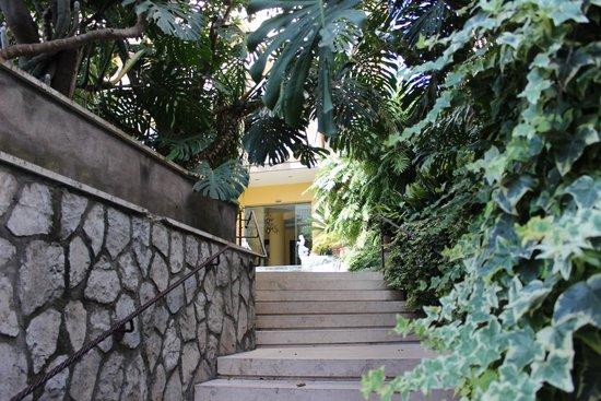 Hotel Zi Teresa: Hotel entrance