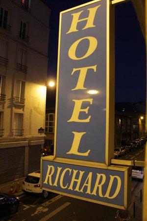 Hotel Richard : Вид из окна