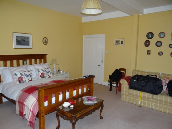 Goss Hall Bed & Breakfast : Zimmer Harlequin