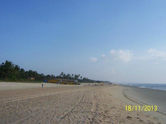 Park Hyatt Goa Resort and Spa : Прекрасный пляж Ароссим