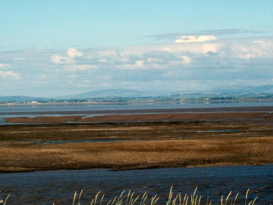 North Euston Hotel: View across to Morecambe