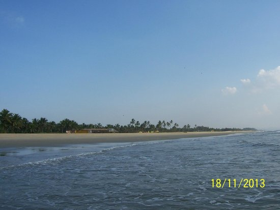Park Hyatt Goa Resort and Spa : Прекрасный пляж