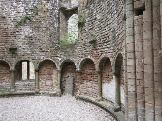 Ludlow Castle : The Round Chapel