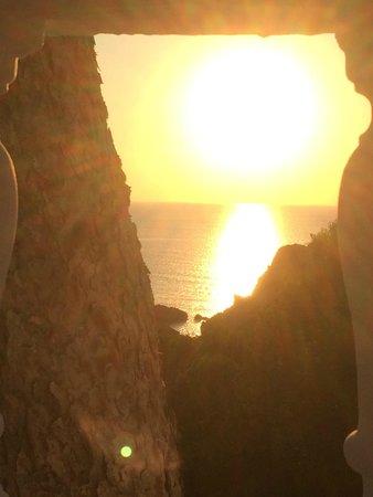 Hotel Village Ibiza: Coucher de soleil 3