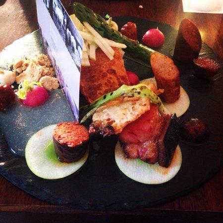 The Peach Tree Restaurant: Piggy Plate