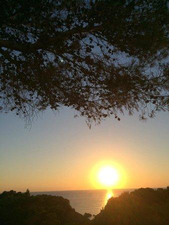 Hotel Village Ibiza: Coucher de soleil 4