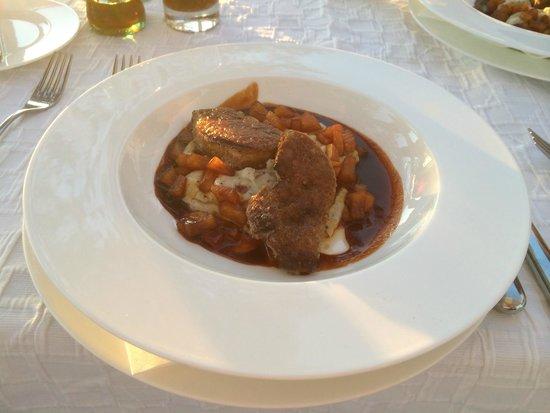 Hotel Village Ibiza: Divin foie gras