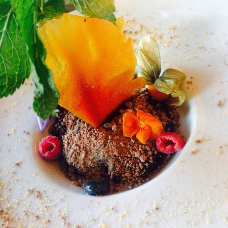 The Peach Tree Restaurant: Chocolate Nemesis Garden