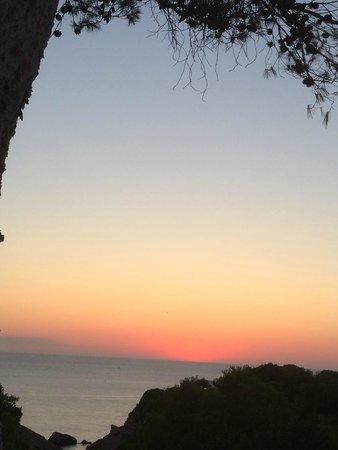 Hotel Village Ibiza: Coucher de soleil 6