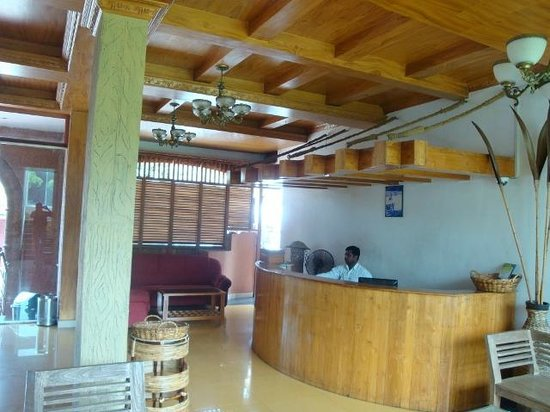Jungle Park Resort: Reception of the hotel
