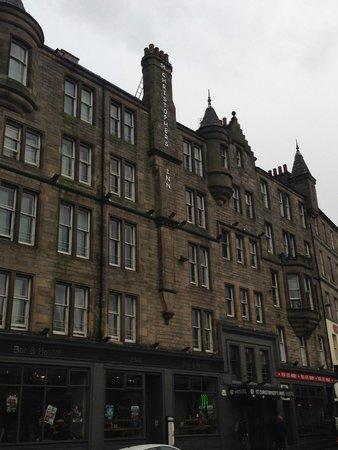 St. Christopher's Inn Edinburgh : vue de l'extérieur