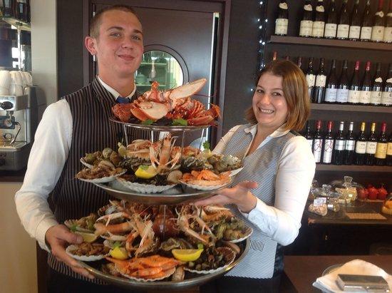 La Sole Meuniere Restaurant: A deux pour ce beaux plateau de fruit de mer royale
