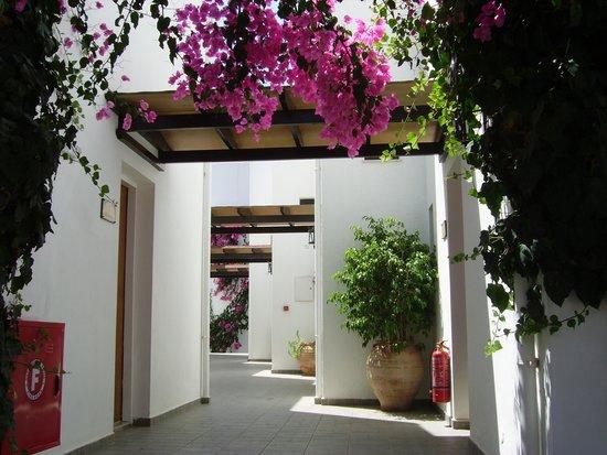 Hersonissos Maris Hotel and Suites: sortie de notre chambre