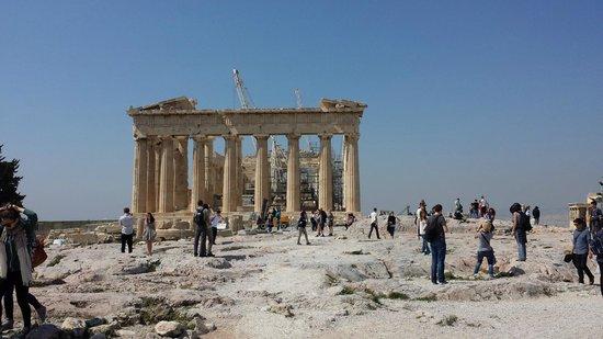 Acropole : Acropolis temple..