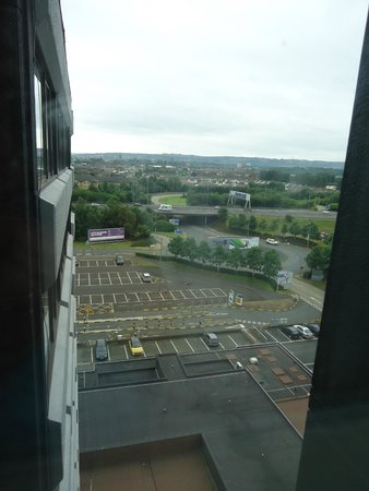 Holiday Inn Glasgow Airport: Our view