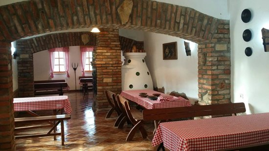 Torokszentmiklos, ฮังการี: Restaurant Interior