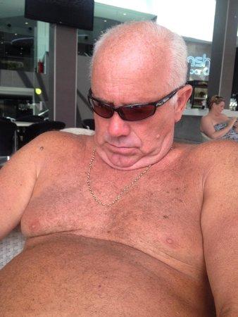 Flash Hotel Benidorm: Getting on a bit lol