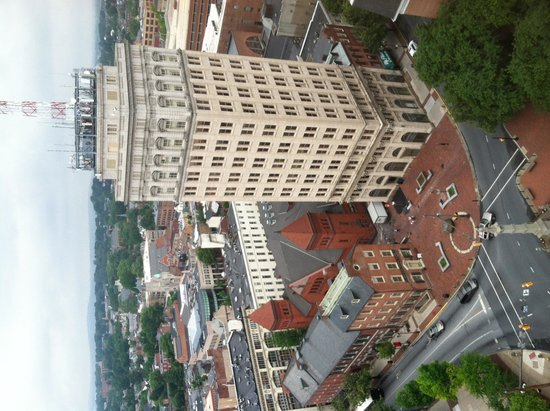 Lancaster Marriott at Penn Square: Griest Building from 19th floor