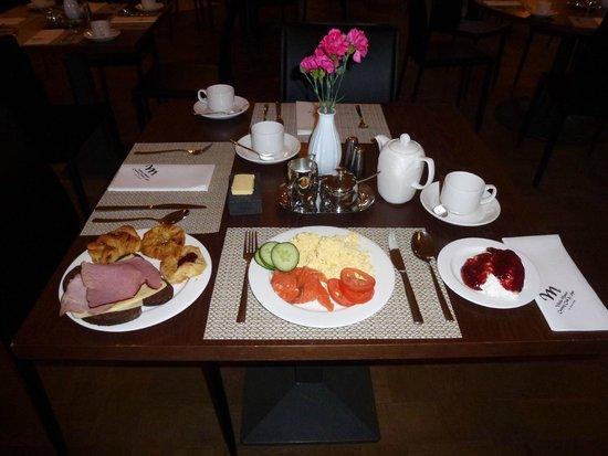 Vihula Manor Country Club & Spa: Завртак в ресторане