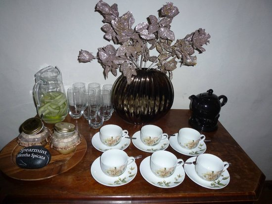 Vihula Manor Country Club & Spa: Все для травяного чая с медом в спа