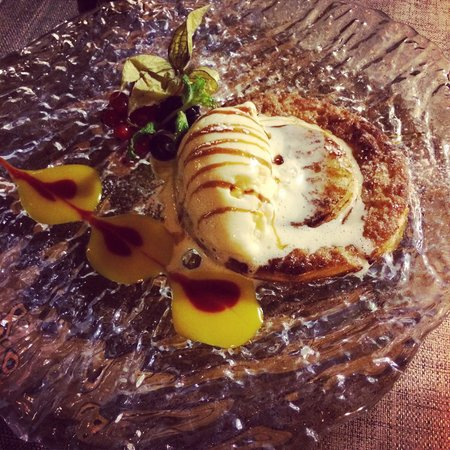 NO Restaurant : Tarta de manzana