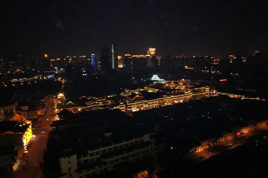 Renaissance Shanghai Yu Garden Hotel: View from the roof of the hotel (bar)
