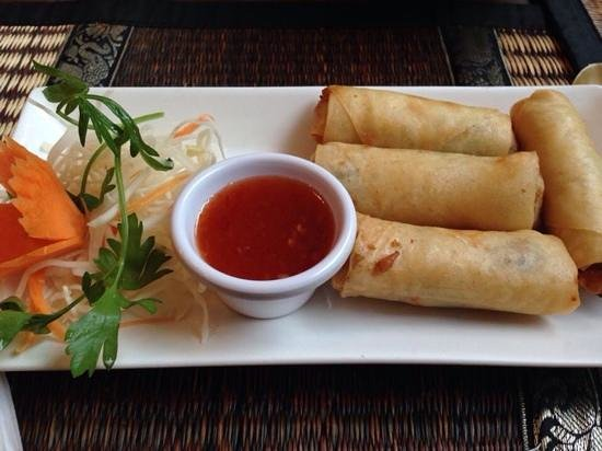 The Old Siam: spring roll