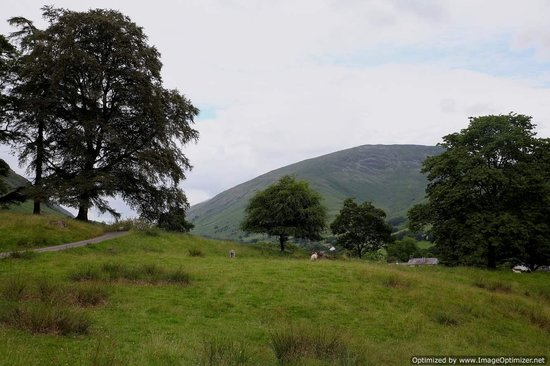 Allan Bank: View from the grounds