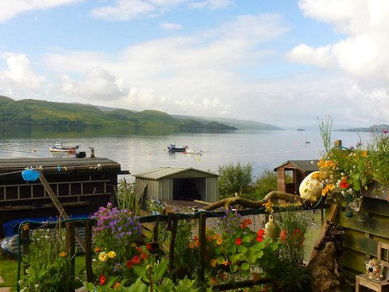 No 15 Bed & Breakfast Furnace: The view of Loch Fyne from the patio