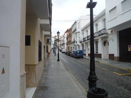 Hotel Palacio Blanco: Hotel on Calle Felix