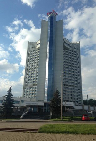Hotel Belarus: Вид на отель