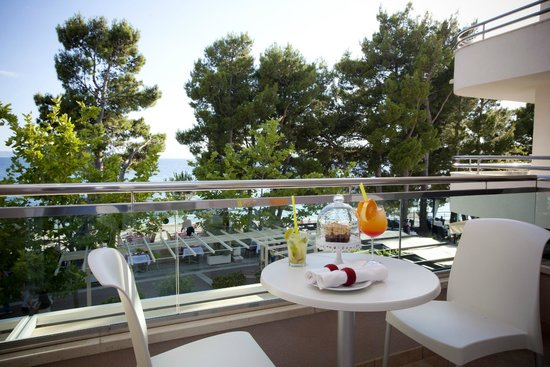 The Maritimo Hotel: View from the balcony