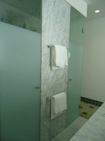 "Hyperion Hotel Dresden : Interesting ""bathroom""...very cool!"