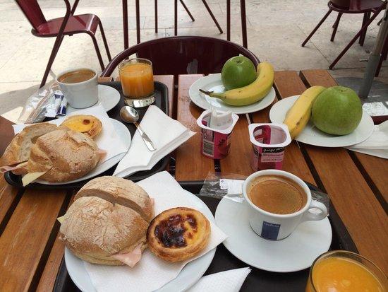 Brown's Downtown Hotel : Un beau petit déjeuner.