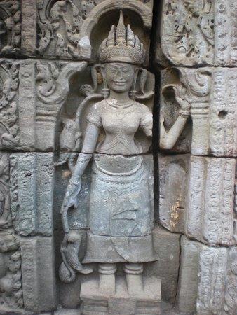 Preah Khan: Devata nella nicchia