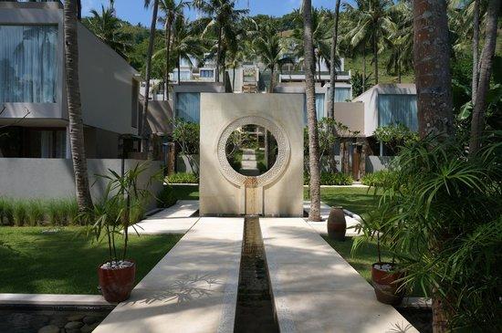 Svarga Resort Lombok: Entrance Architecture