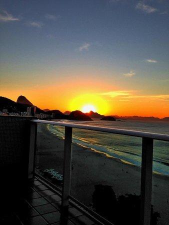 Pestana Rio Atlantica Hotel: Amanhecer