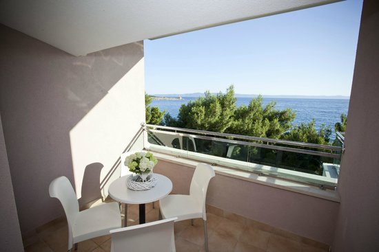 The Maritimo Hotel: View from the top floor