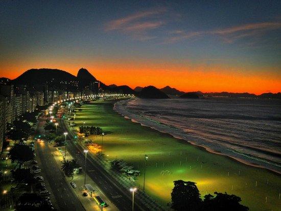 Pestana Rio Atlantica Hotel: Primeiro raiar do dia
