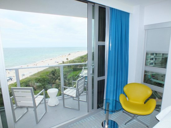 Courtyard Cadillac Miami Beach/Oceanfront : View from room 1042