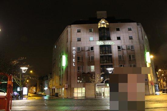 Ibis Styles Tours Centre: ホテル全景